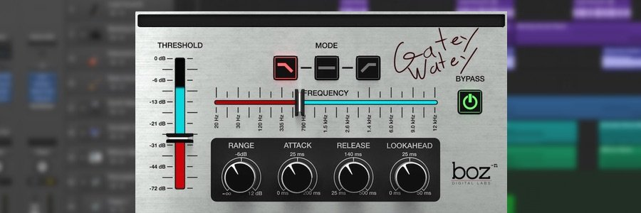 Free Plugin: Boz Digital Lab Gatey Watey
