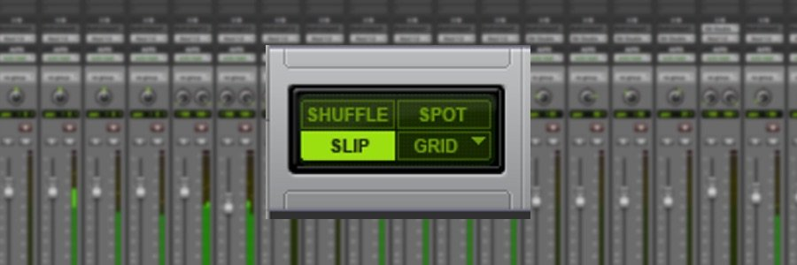 Pro Tools 101: Understanding the Pro Tools Edit Modes